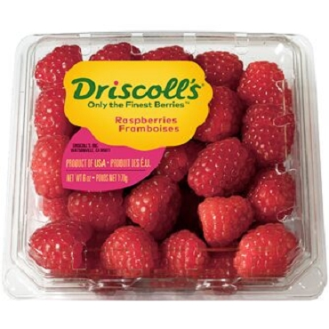 Driscoll Raspberries - 8 oz