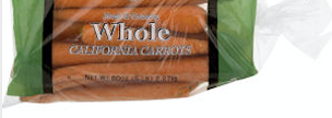 California Carrots - 1 lb. bag
